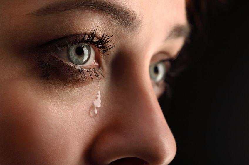 12744816 - beauty girl cry