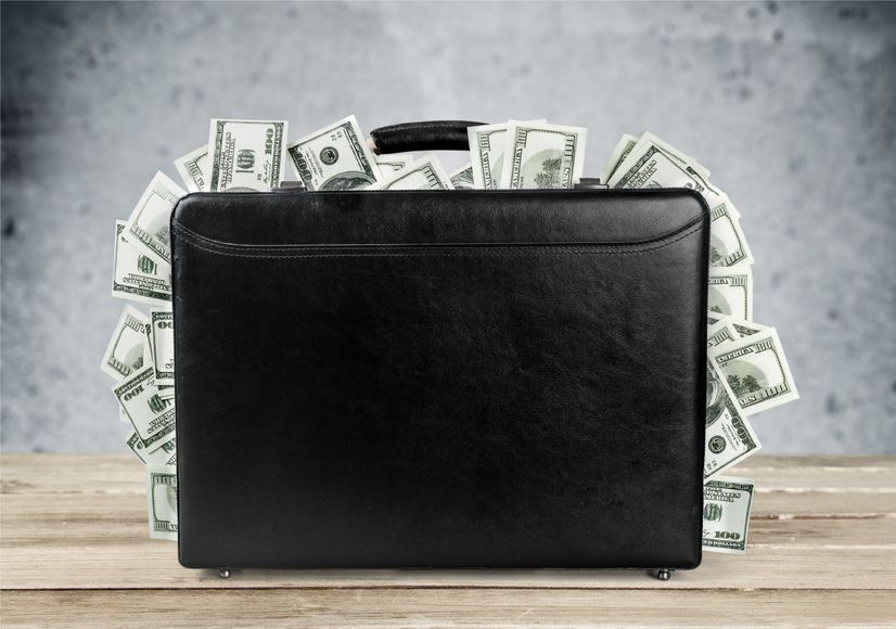 43716312 - money bag.