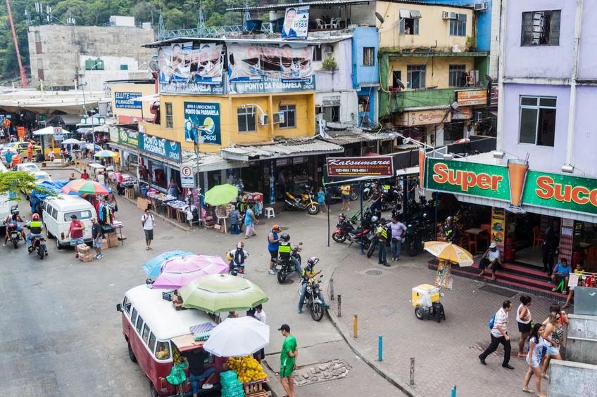 Comércio rocinha favela