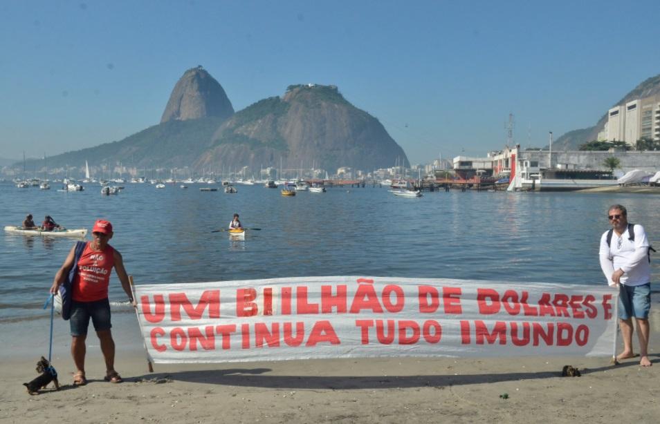 baia da guanabara poluída ambientalistas-agência brasil