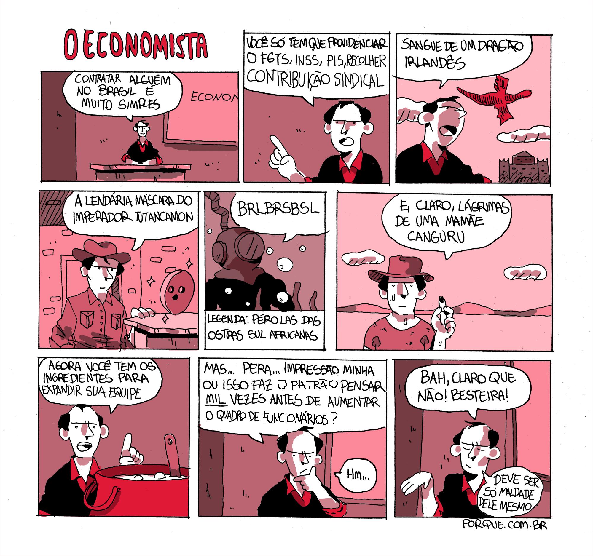 o economista quadrinho